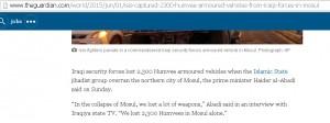 Мы потеряли 2,300 Хамви только в Мосуле