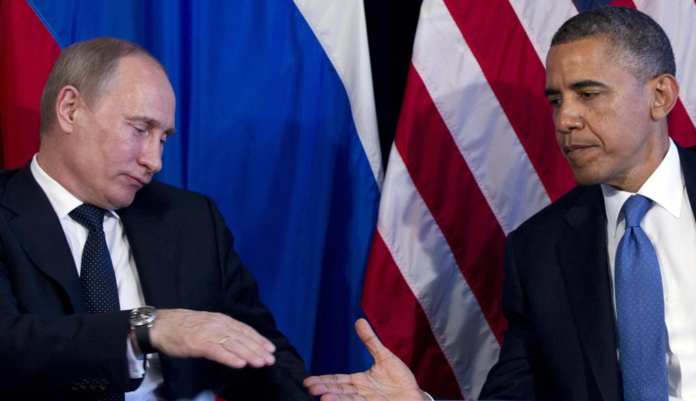 Состоялся разговор между Путиным и Обамой