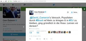 Попытка Кемерона прижать популистов и остаться в ЕС накрылась медным тазом. Сделаем выводы?