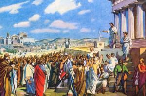 Прямая демократия в Афинах