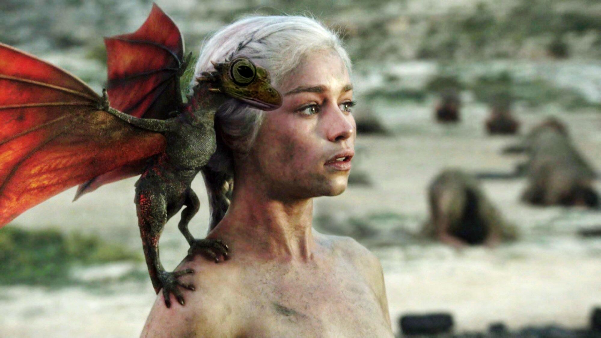 Прирученный дракон Дайнерис