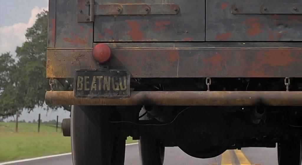 Номерной знак грузовика Крипера