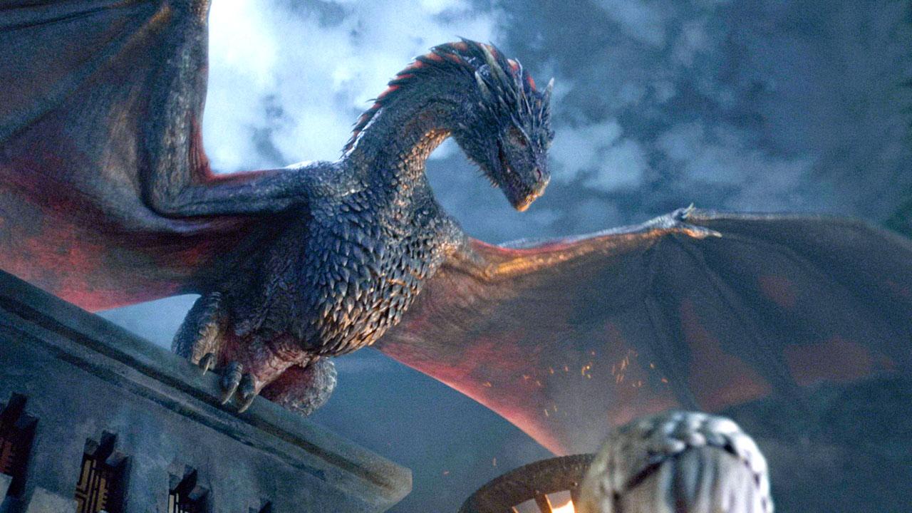 Дракон из Игры престолов