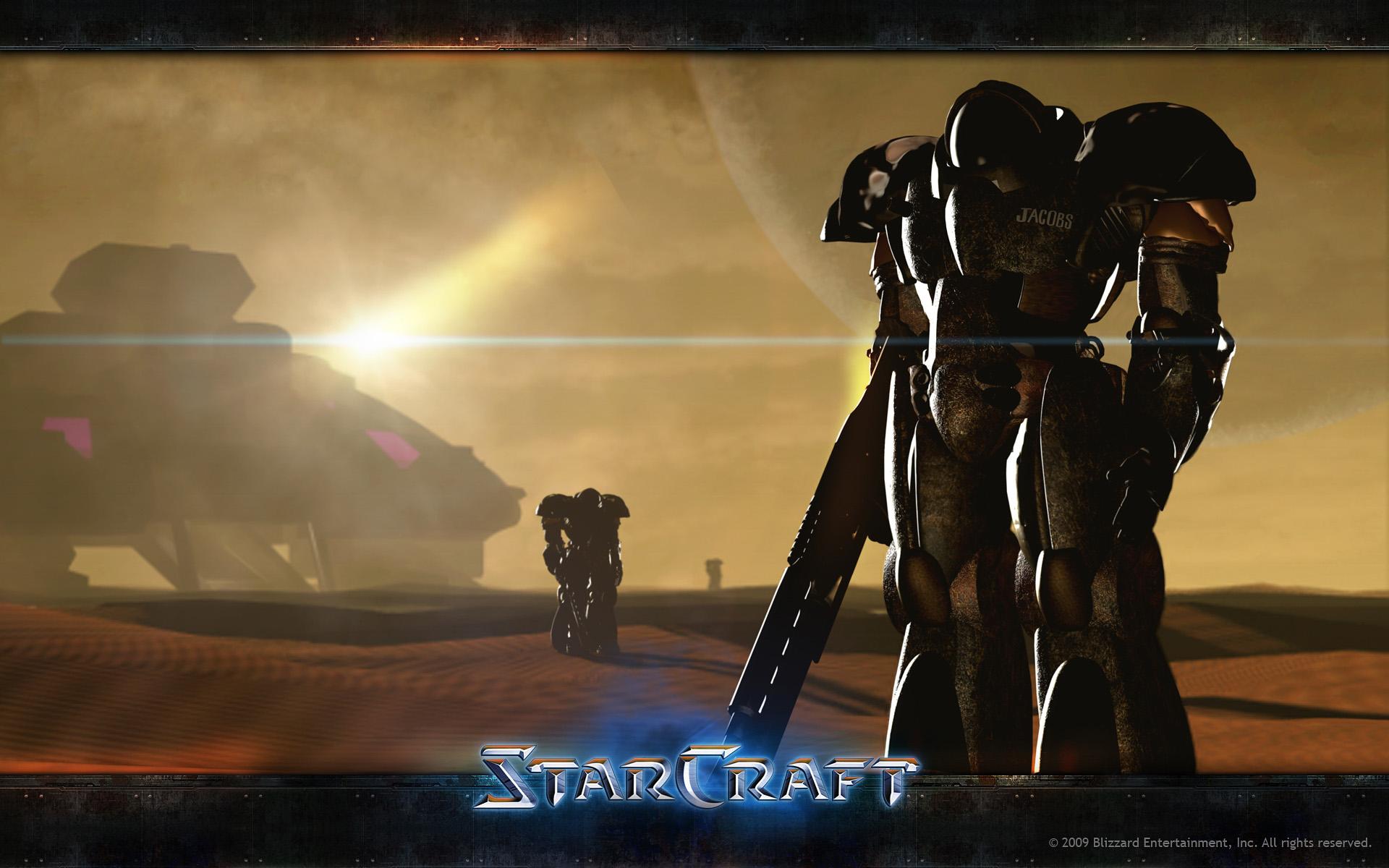 Starcraft 1: начало игрового сюжета