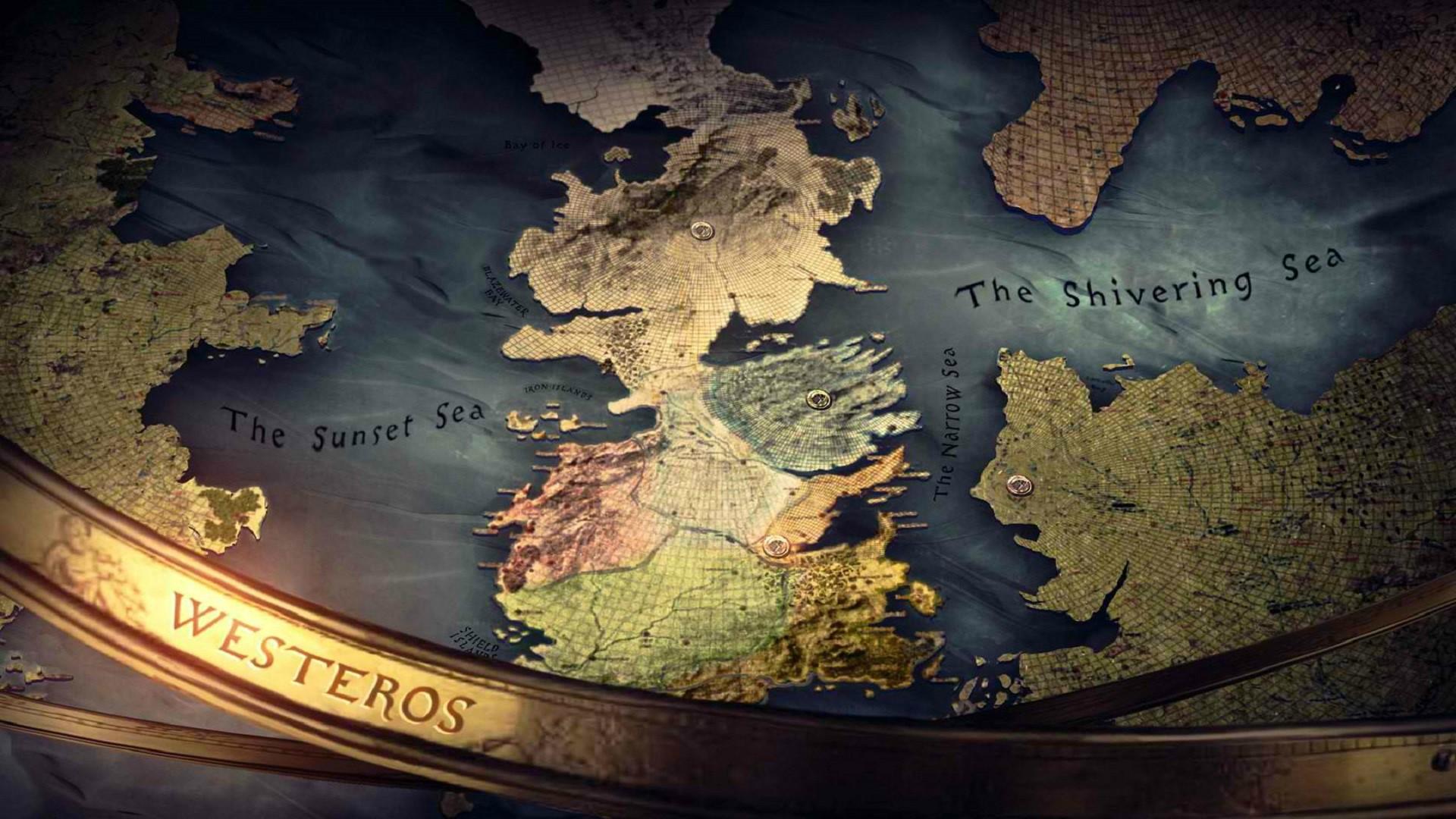 Карта Вестерос