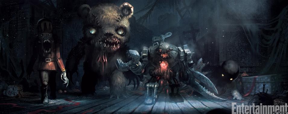 Демонические помощники Крампуса