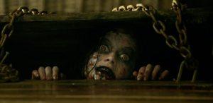 Кадр из фильма Зловещие мертвецы: черная книга