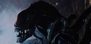 Инопланетное существо (ксеноморф) из фильма Чужие