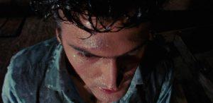 Брюс Кэмпбелл в первой части Зловещих мертвецов 1981 года