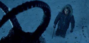 Кадр из фильма Крампус