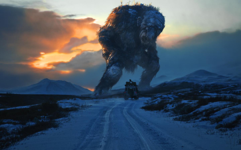 Тролль Йотнер - настоящая гора и самый большой вид