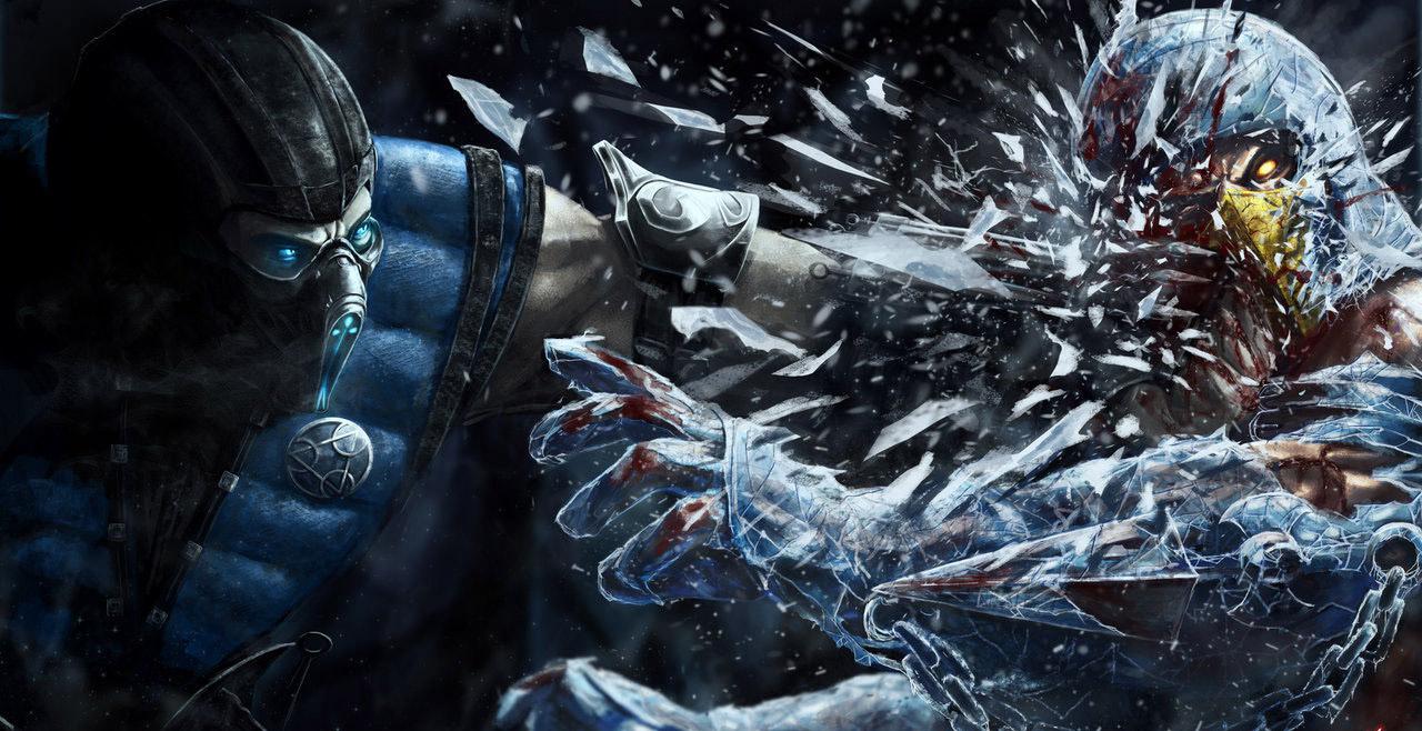 Саб-Зиро побеждает Скорпиона