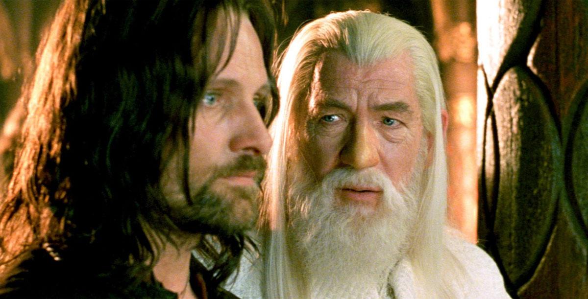 Арагорн и Гендальф