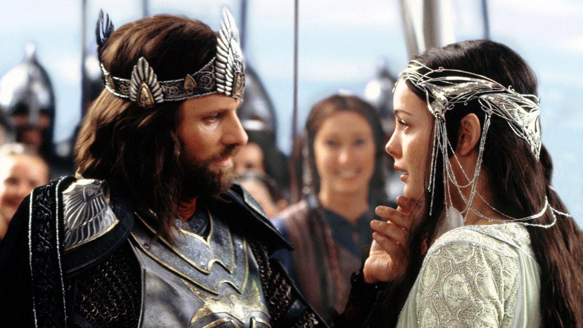 Свадьба Арагорна и Арвен (Властелин колец: Возвращение короля, 2003)