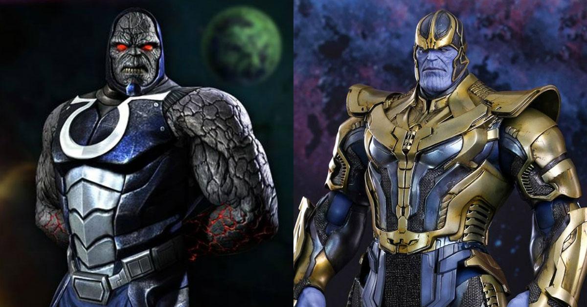 Дарксайд и Танос