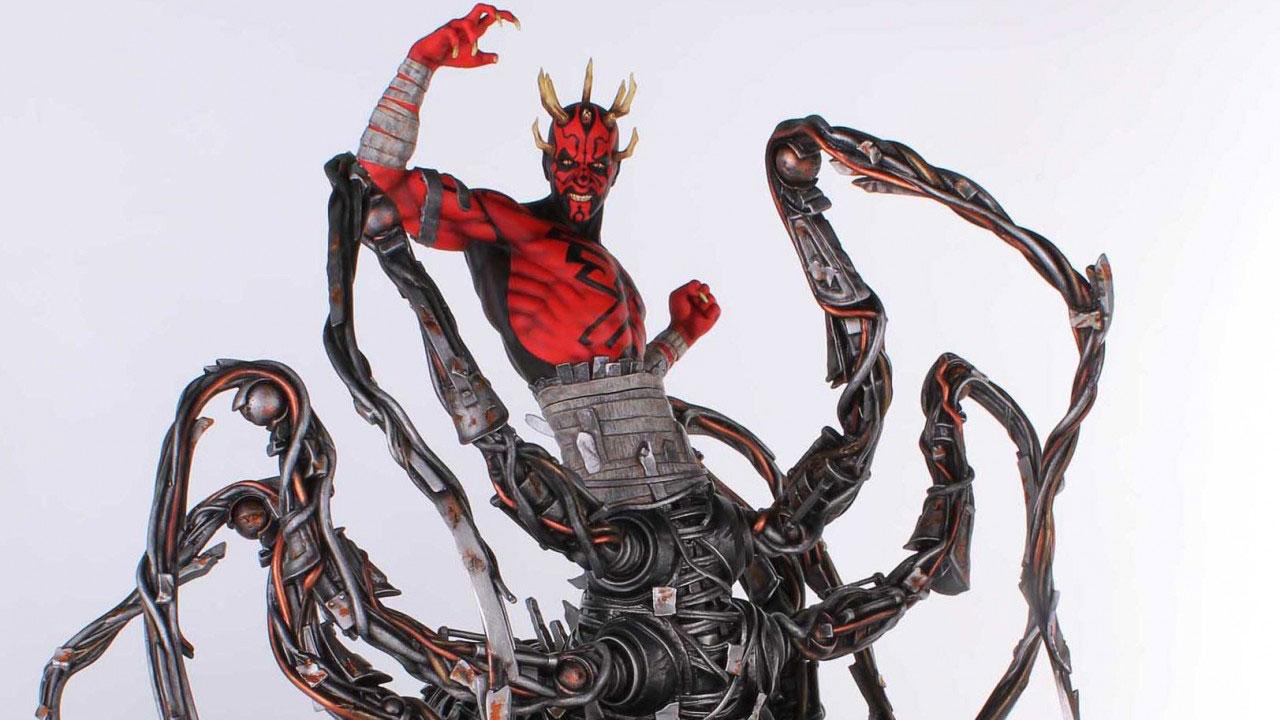 Дарт Мол с роботизированной нижней частью тела в виде паучьих лап