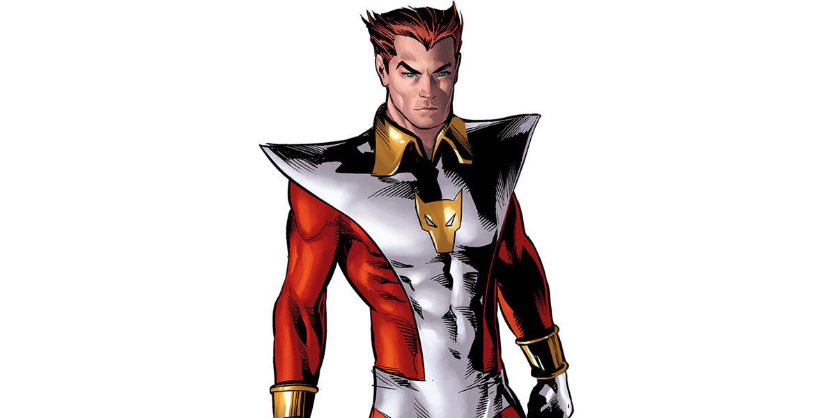 Родной брат Таноса - Звездный Лис (Эрос)