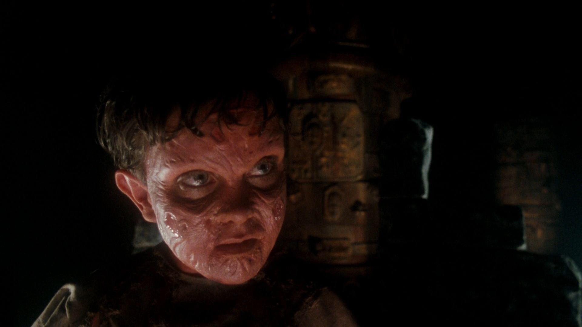 Фредди Крюгер пытается переродиться через сны ребенка в утробе(Кошмар на улице Вязов 5: Дитя сна, 1989)