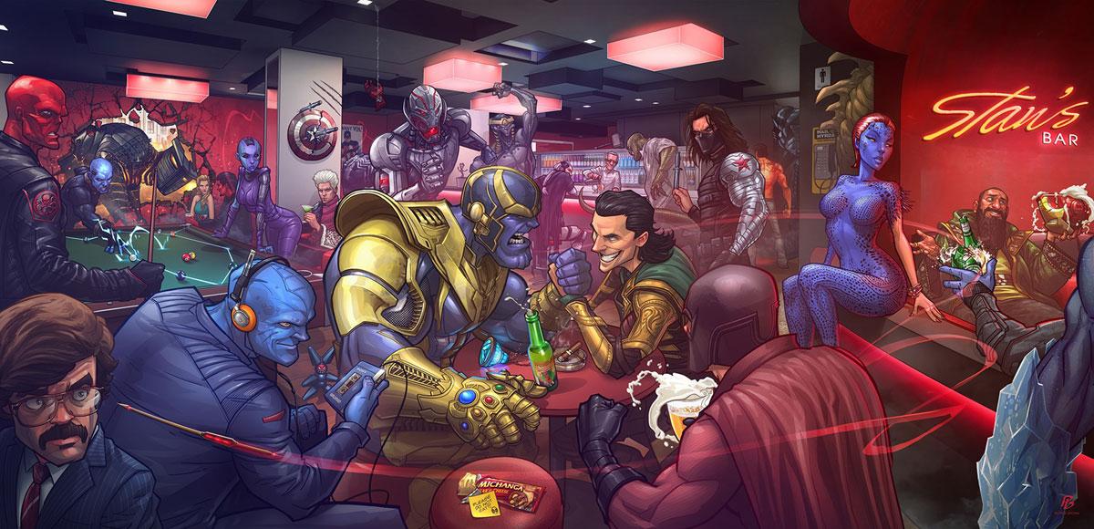 Все суперзлодеи киновселенной Марвел от худшего к лучшему