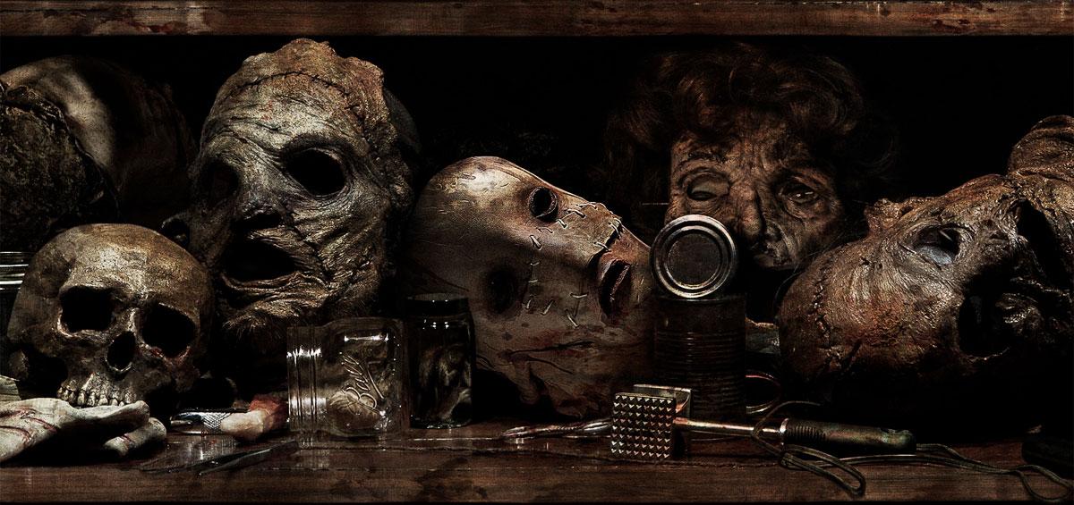 Маски Кожаного лица из человеческой кожи