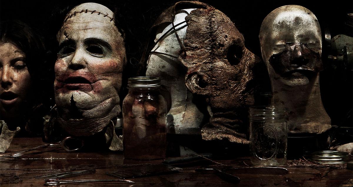 Создание масок из человеческой кожи