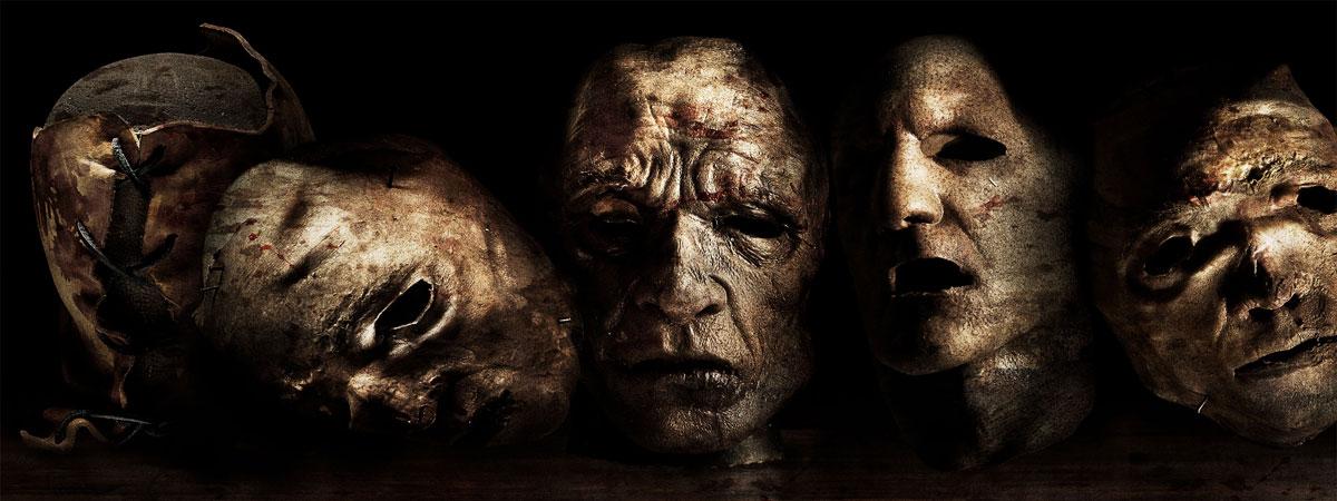 Еще маски из человеческой кожи у Кожаного лица