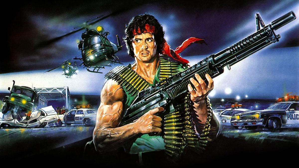 Постер фильма Первая кровь, 1982