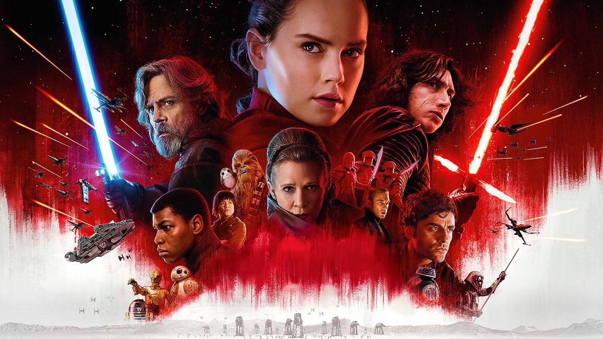Постер: Звёздные войны: Эпизод 8 - Последние джедаи (2017)