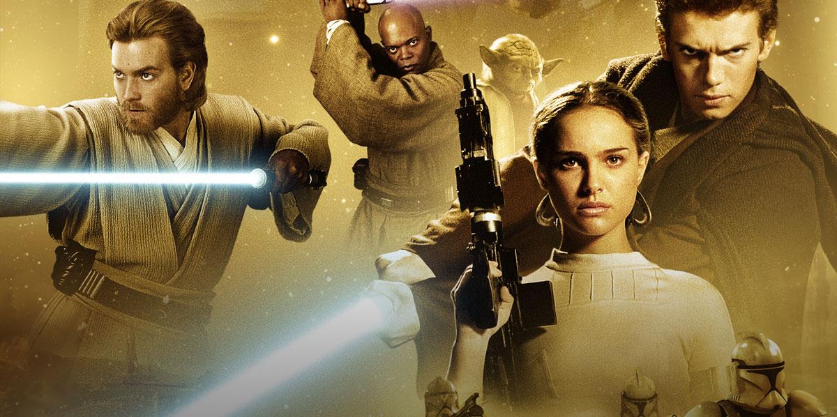 Постер: Звёздные войны: Эпизод 2 – Атака клонов (2002)