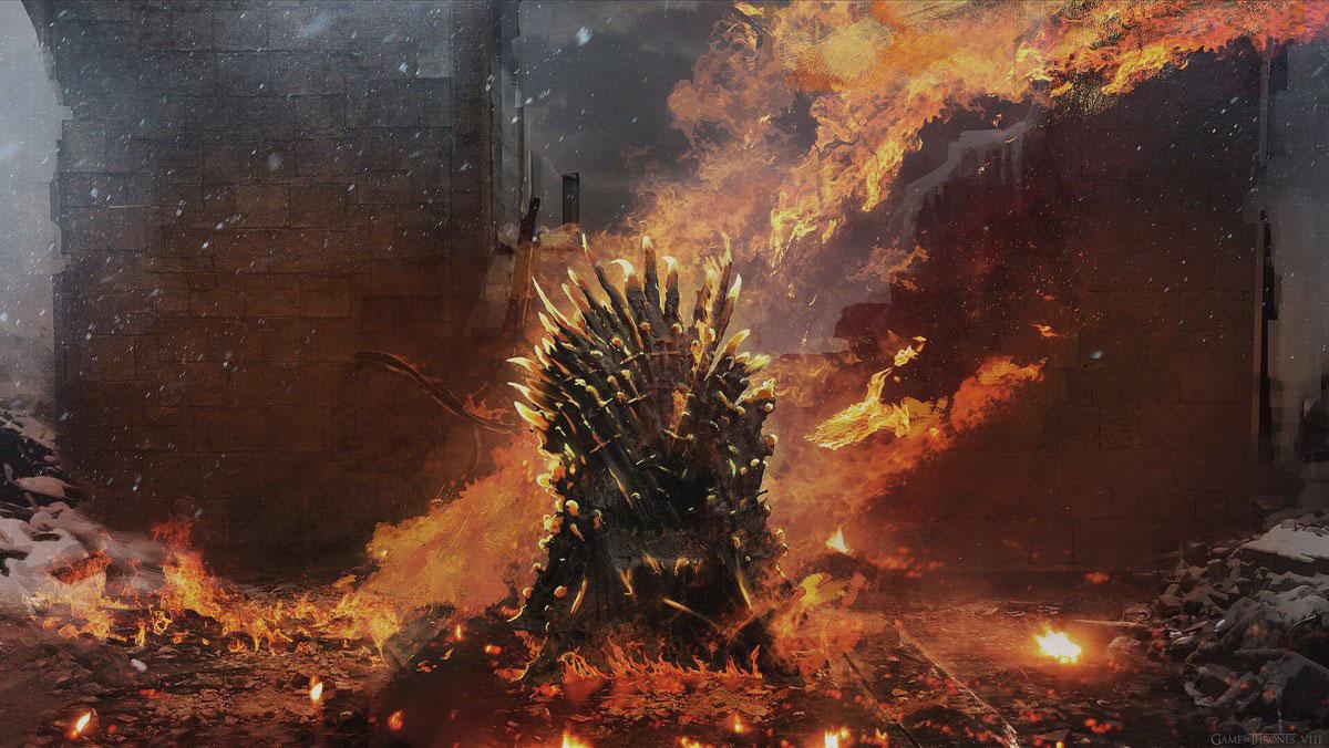 Железный трон расплавился