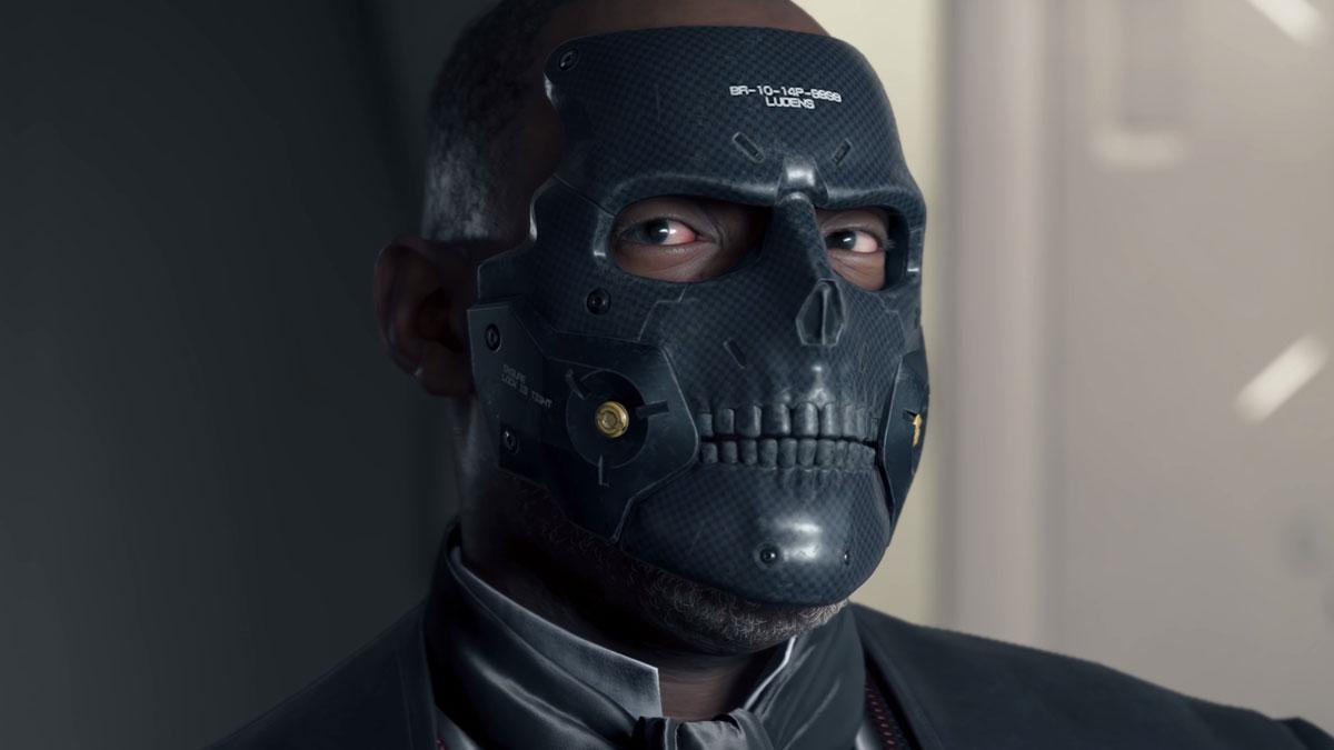 Дайхардмэн в маске