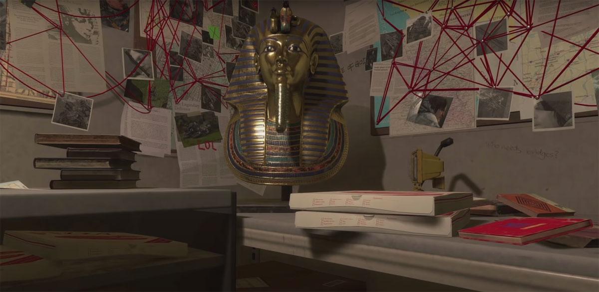 Бюст фараона, который стал прототипом всего образа Хиггса