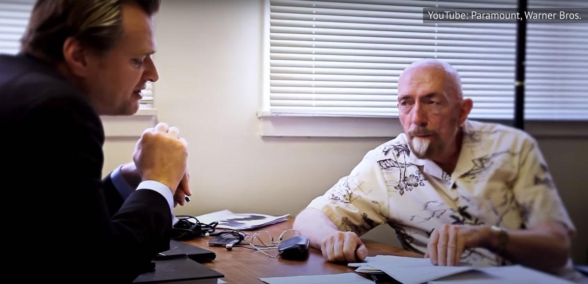 """Кристофер Нолан и Кип Торн во время создания """"Интерстеллар"""""""