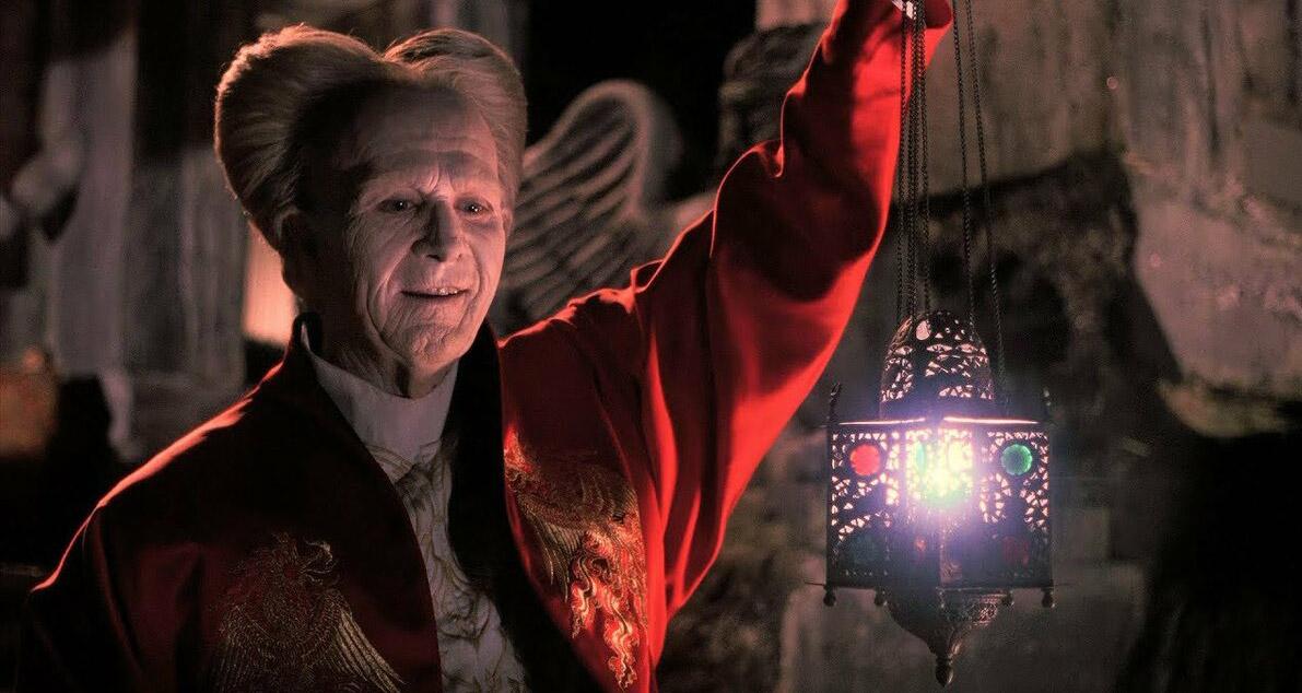 Состарившийся граф Дракула из фильма 1992 года