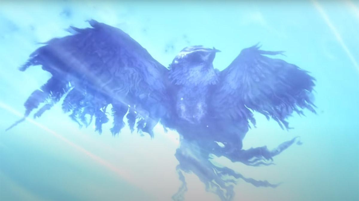 Гибель Куро - сова жертвует собой, чтобы спасти своего последнего детеныша