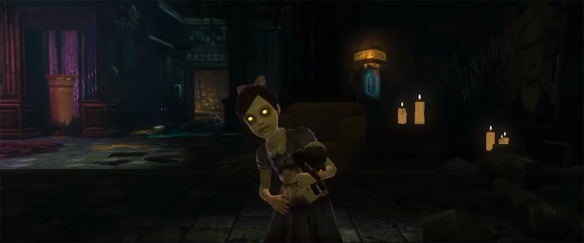 Дельта встречает первую сестричку после пробуждения