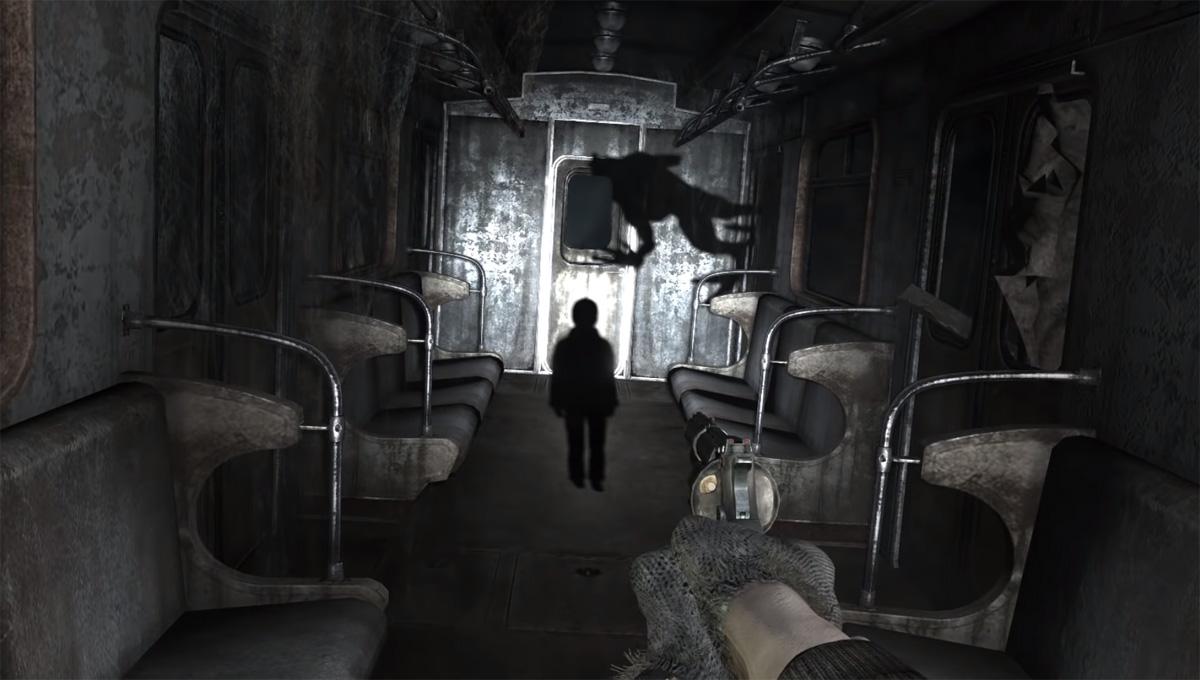Аномалия в Метро 2033 - души в тенях