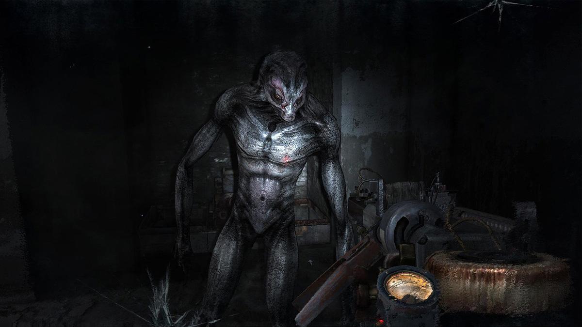 Представитель загадочной расы Черных в Метро 2033