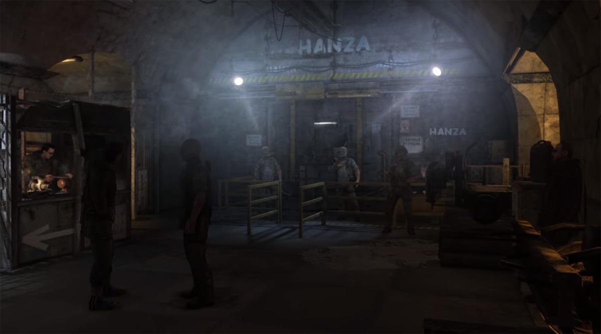 Ганза - технологичная группировка в Метро 2033