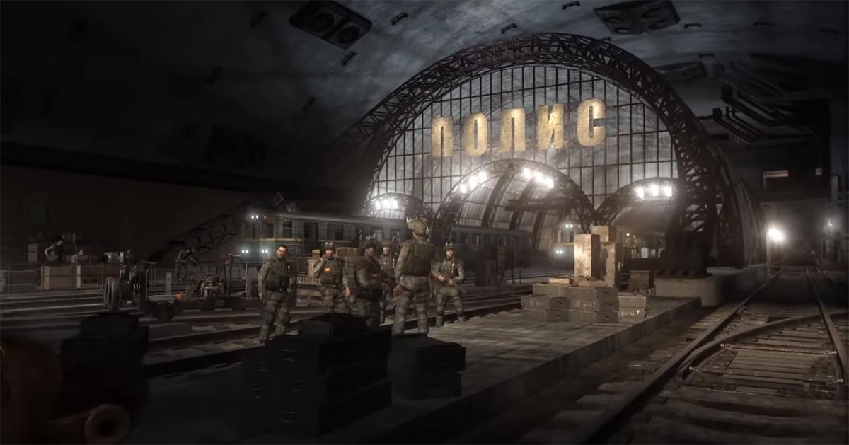 Территория группировки Полис в Метро 2033