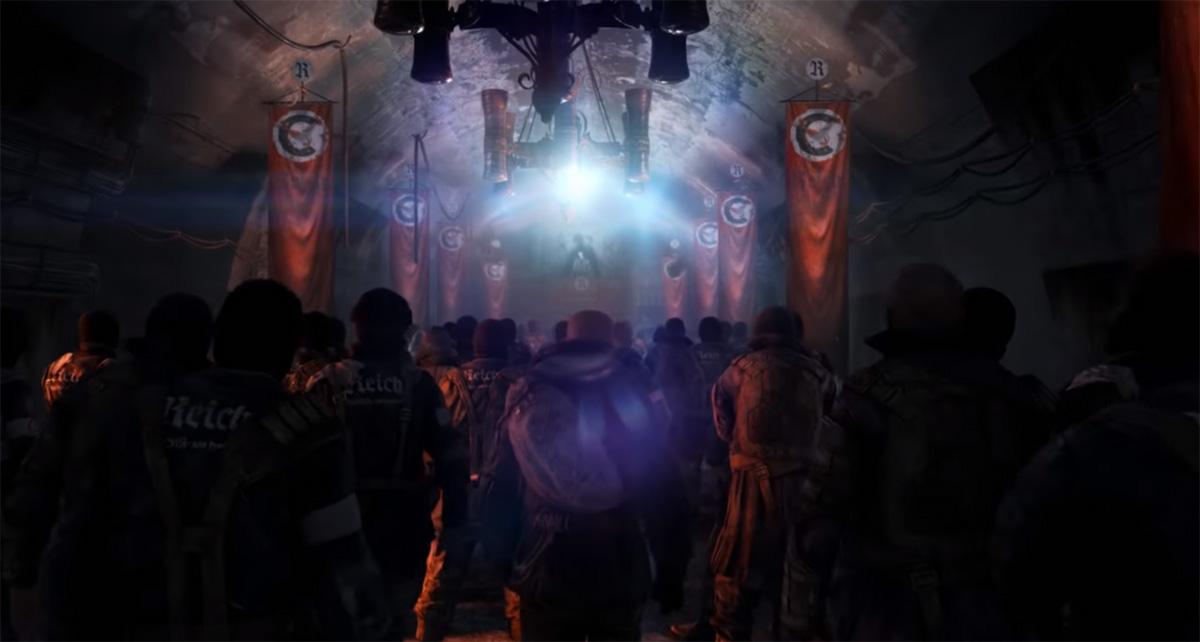 Территория группировки Четвертый рейх в Метро 2033