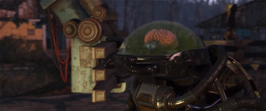 Робомозг Джезебел из DLC Automatron Fallout 4