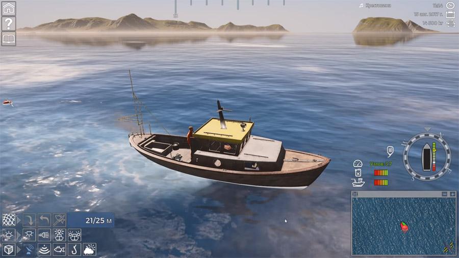 Компьютерная игра симулятор промысловой рыбной ловли в Баренцевом море: Fishing Barrents Sea