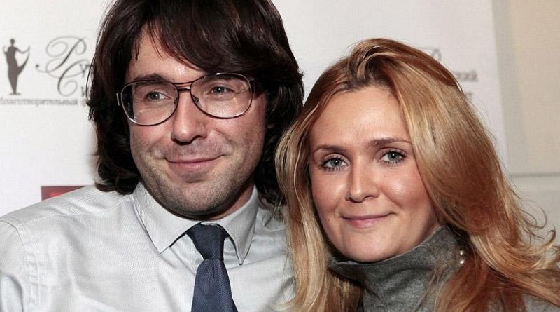 Андрей Малахов со своей женой Натальей Шкулёвой