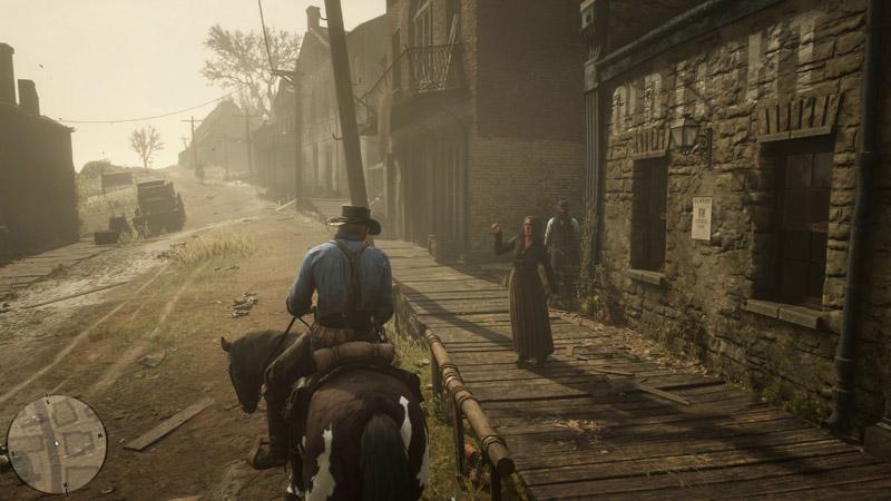 Открытый мир игры Red Dead Redemption 2