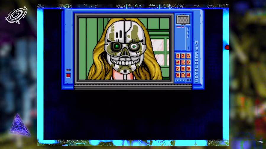 Snatcher - первая игра в жанре киберпанк