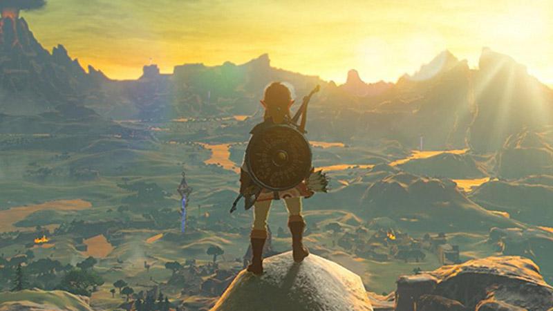 Открытый мир игры Zelda: BoTW
