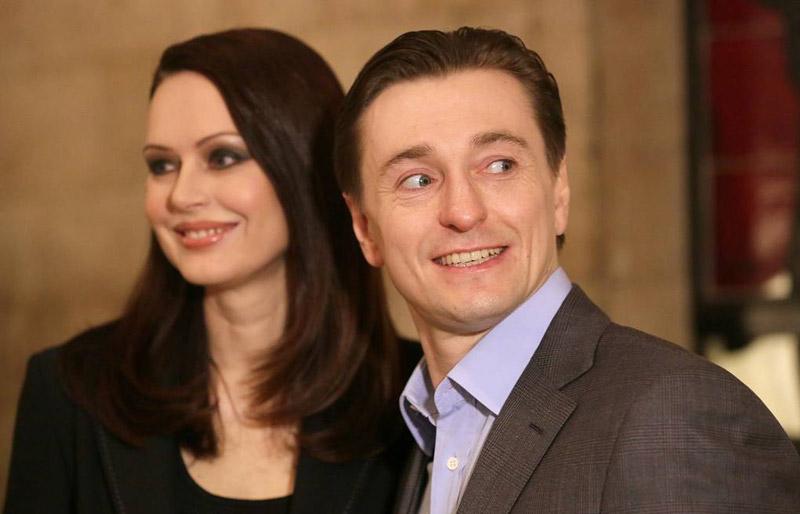 Сергей Безруков и его первая жена - Ирина Ливанова