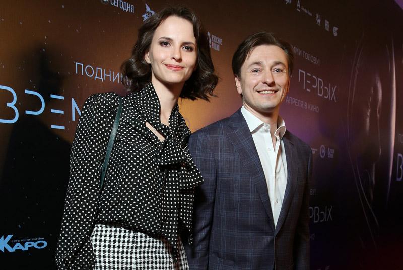 Сергей Безруков со своей второй женой - Анной Матисон