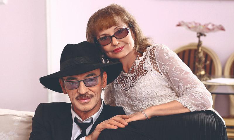 Михаил Боярский и его жена Лариса Луппиан